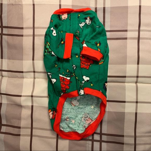 Peanuts Christmas Dog PJs